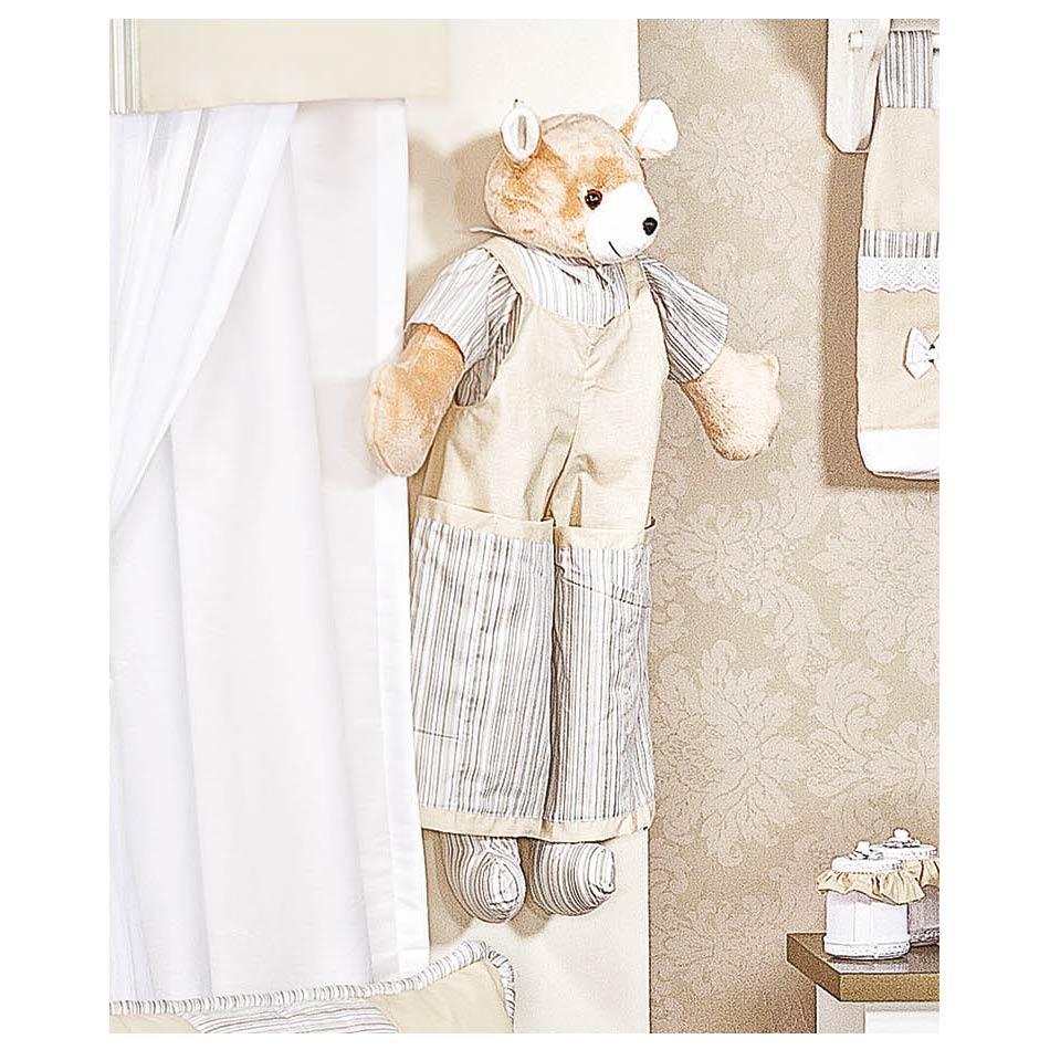 Porta Fraldas Urso - Coleção Capricho