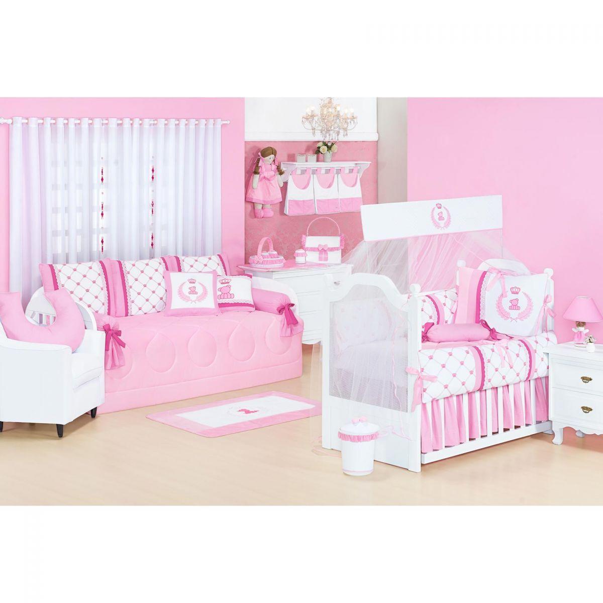 Apoio para Amamentar Bebê - Coleção Classic Rosa