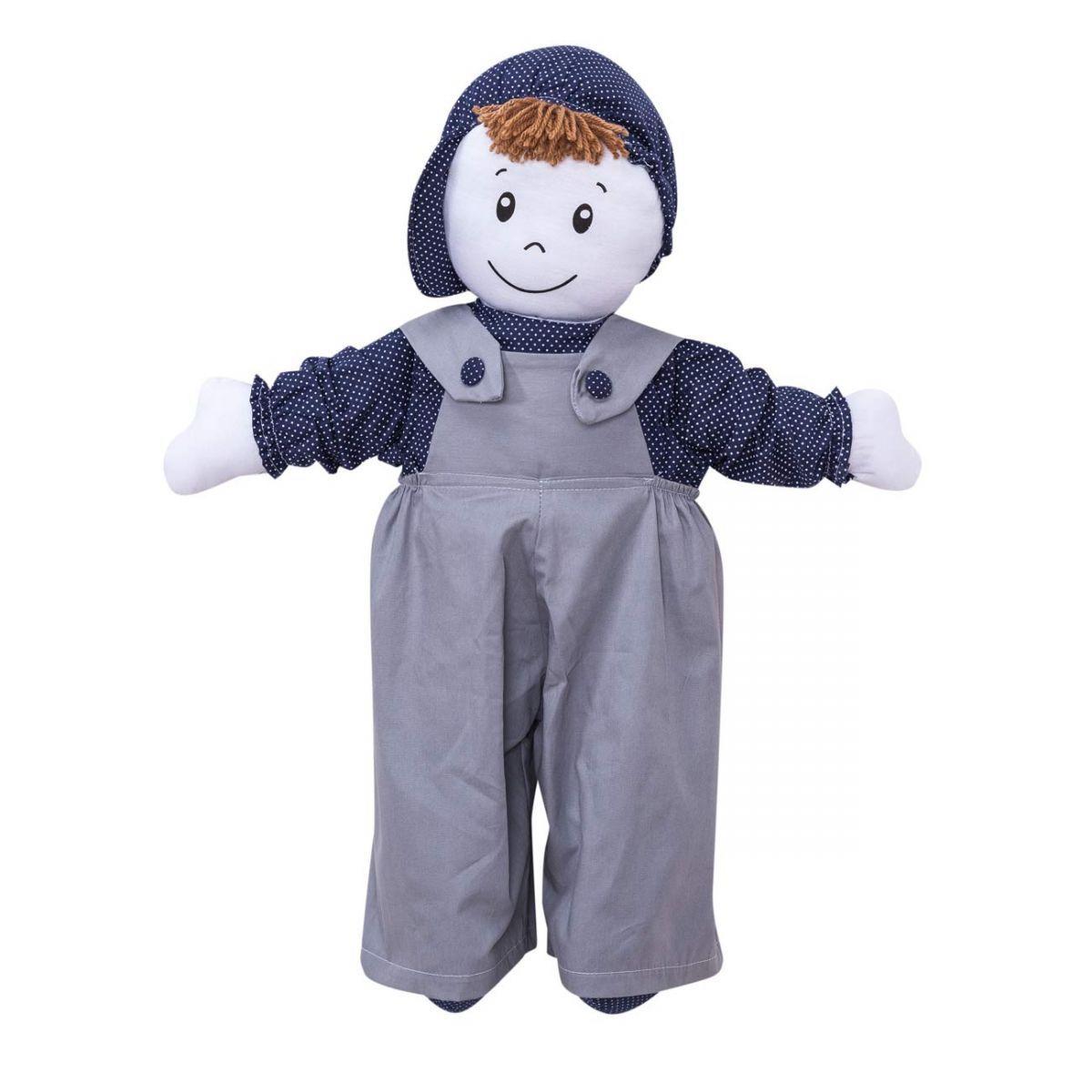 Boneco decorativa para Quarto Bebê Coleção Futebol - Azul