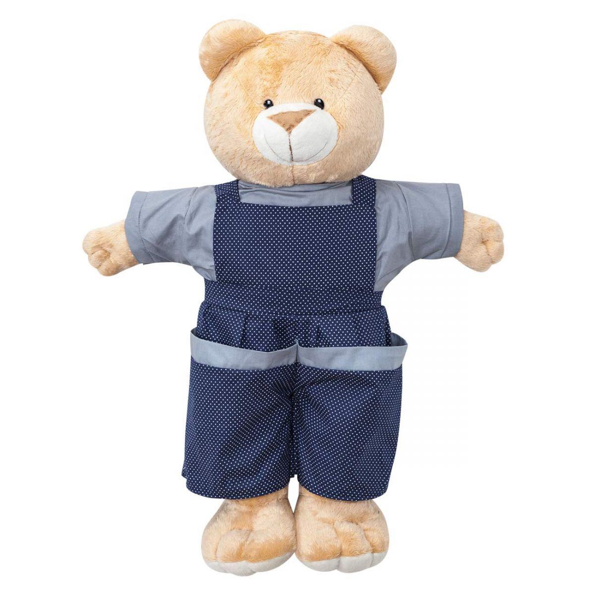 Porta Fraldas Boneco para Quarto de Bebê Coleção Futebol - Azul