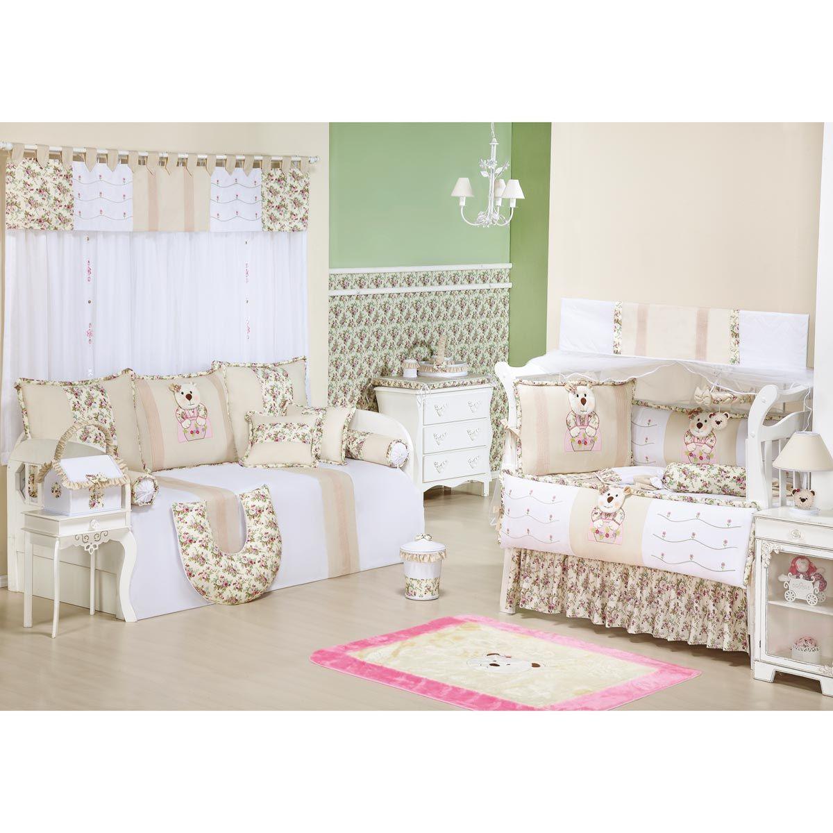 Tapete para Quarto de Bebê de Pelúcia - Coleção Keka