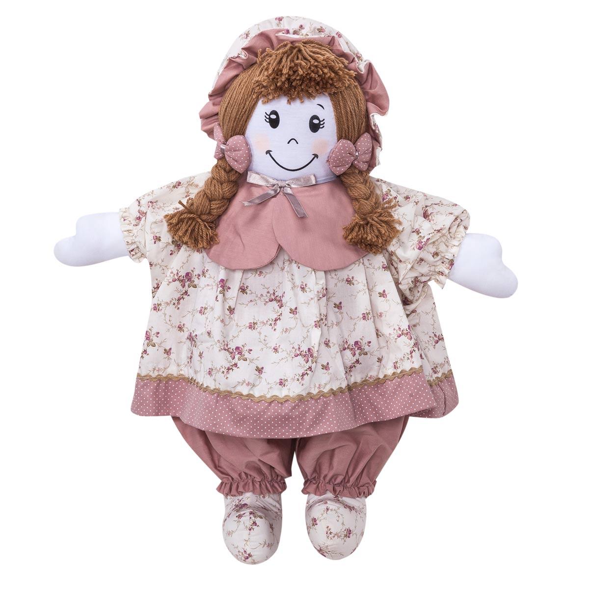 Boneca decorativa para Quarto Bebê - Coleção Nina Camponesa