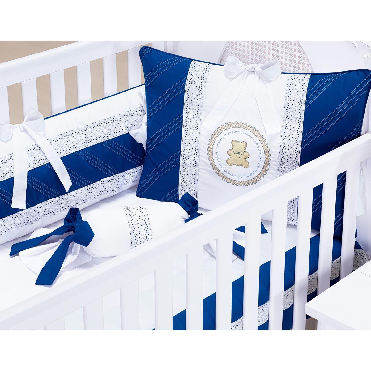 Coleção Completa para Quarto de Bebê Premier Royal 200 Fios - 18 Peças
