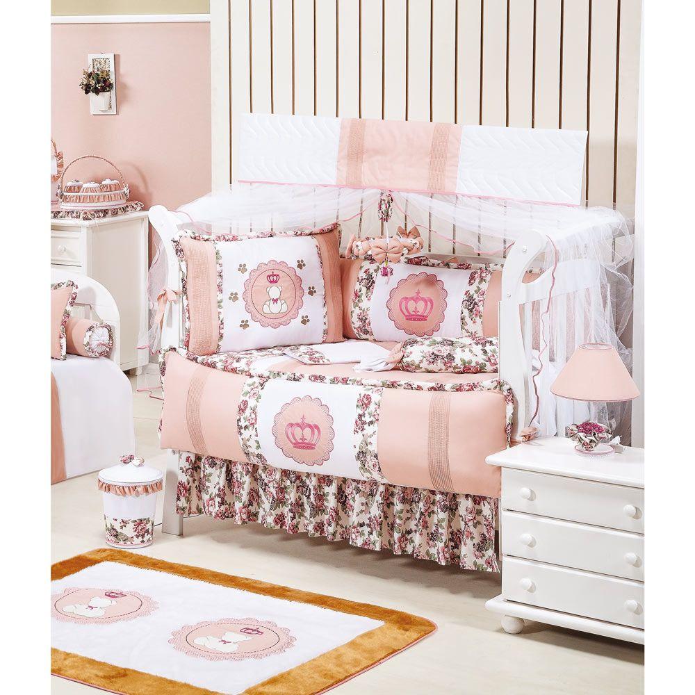 Coleção Completa Americano Princesa Baby - 23 Peças - 100% Algodão