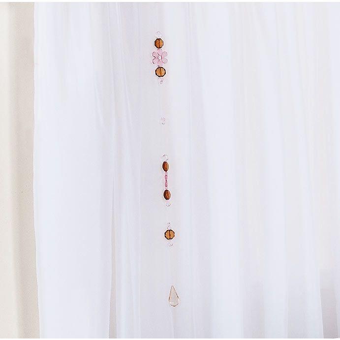 Pêndulo para Cortina de Bebê 02 Peças - Coleção Princesa Baby