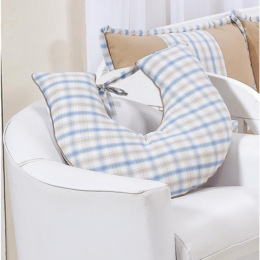Almofada Amamentação - Coleção Príncipe Baby - 100% Algodão