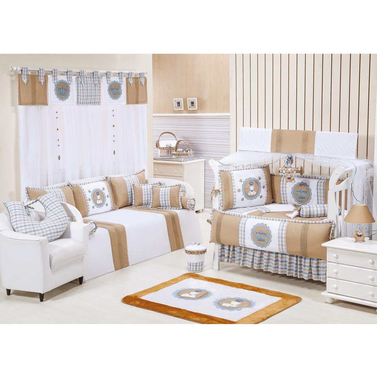 Tapete para Quarto de Bebê de Pelúcia - Coleção Príncipe Baby