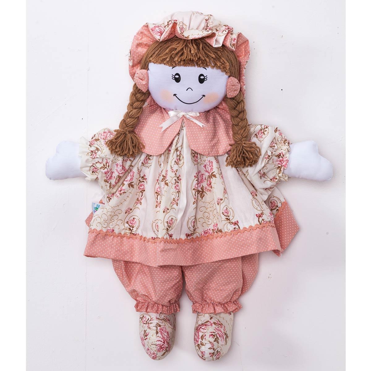 Boneca decorativa para Quarto Bebê - Coleção Ursa Naná