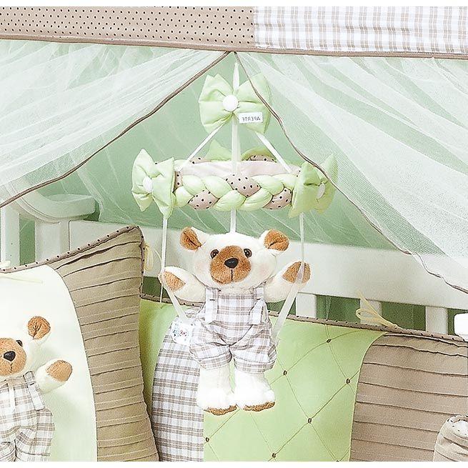Móbile para Berço de Bebê - Coleção Urso Baby