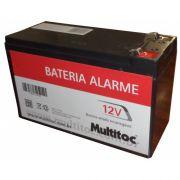 Bateria Selada Recarreg�vel 12V 7,2Ah Multitoc