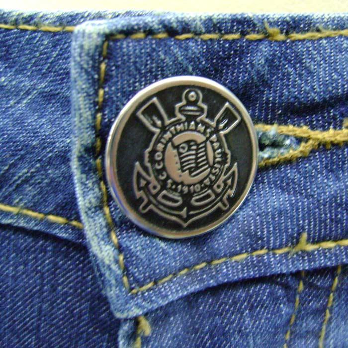 Shorts Jeans Feminino do Corinthians - RK07C