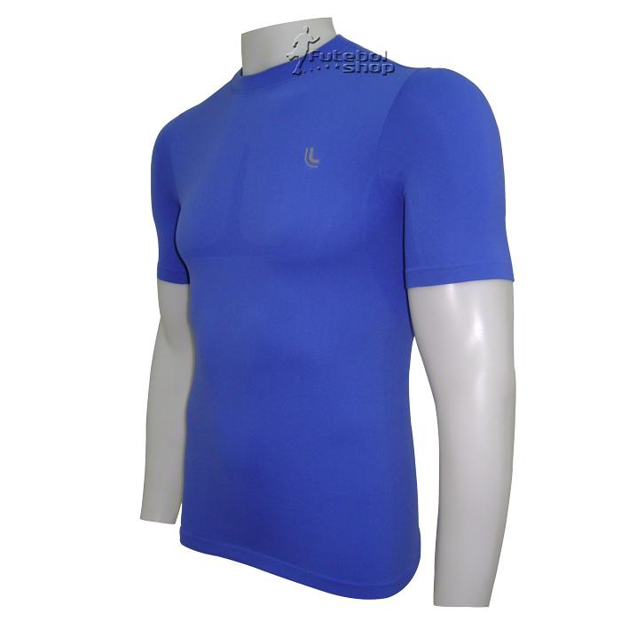 Camisa Térmica Manga Curta Lupo I-Power - Azul - 70040