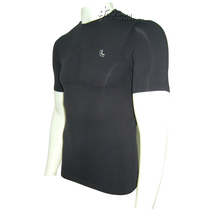 Camisa Térmica Manga Curta Lupo I-Power - Preta - 70040