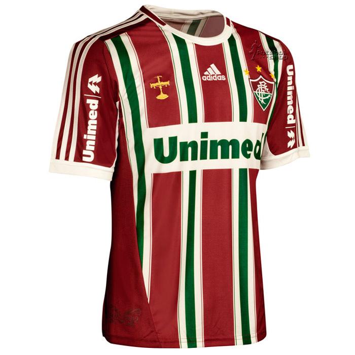 Camisa Adidas Fluminense I 2012 - Número 10 - X36601