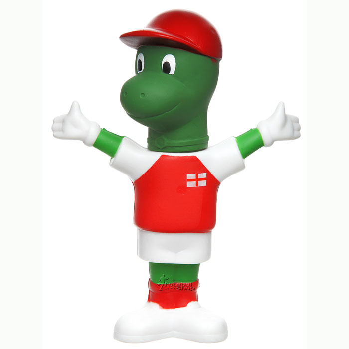 Mascote do Arsenal The Gunnersaurus