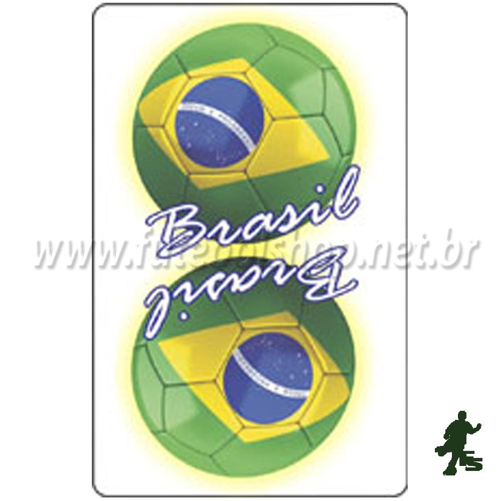 Jogo de Baralho do Brasil Branco