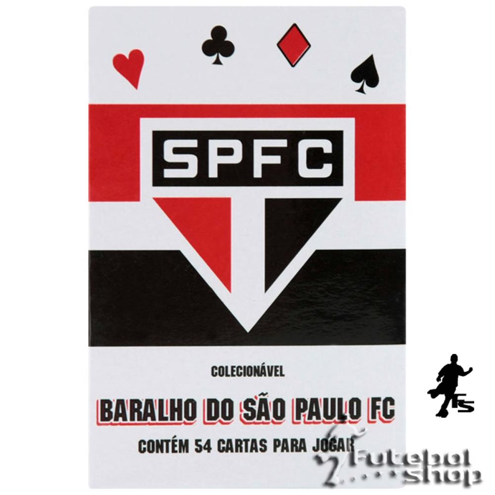Jogo de Baralho do São Paulo Branco