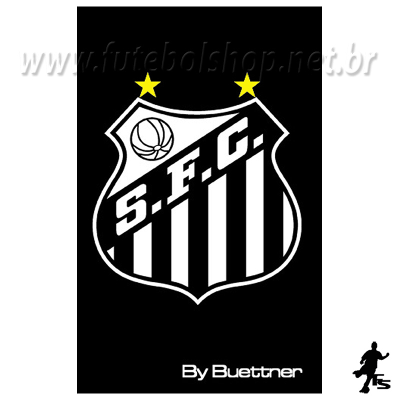 Toalha Buettner Social Veludo Santos - 30 x 50 cm
