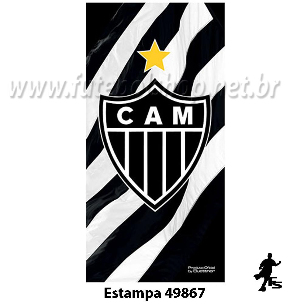 Toalha Buettner Veludo do Atlético Mineiro