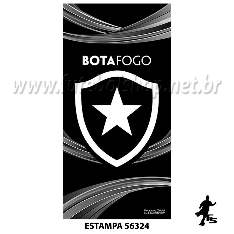 Toalha Buettner Veludo Botafogo
