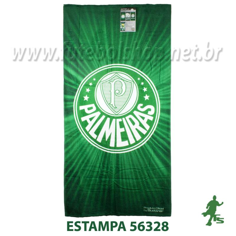 Toalha Buettner Veludo Palmeiras