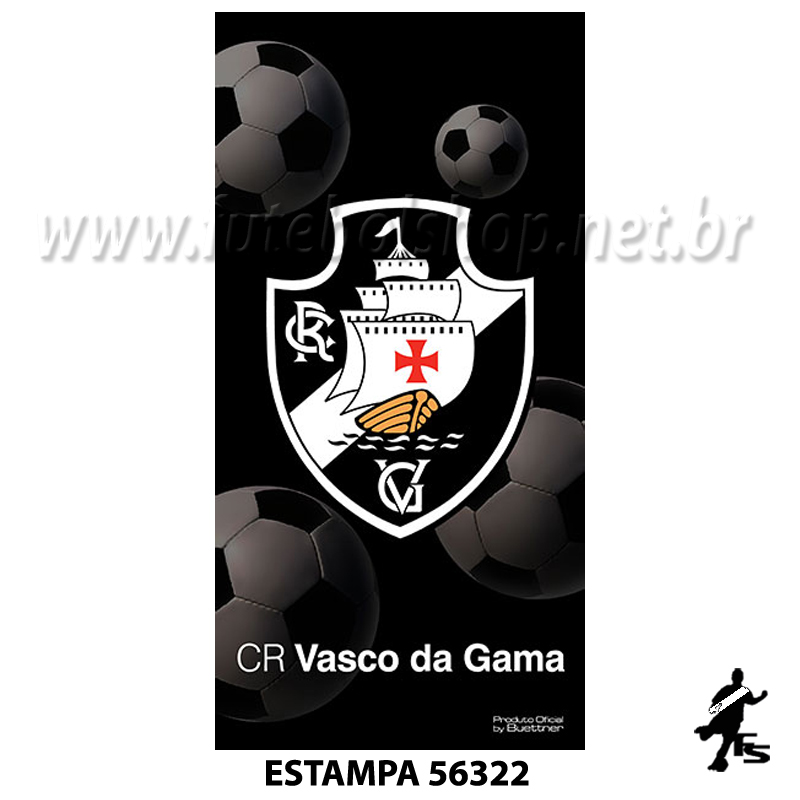 Toalha Buettner Veludo Vasco da Gama