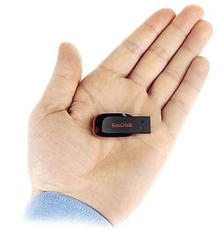 PENDRIVE 4GB SANDISK CRUZER BLADE 100% ORIGINAL  - Mix Eletro