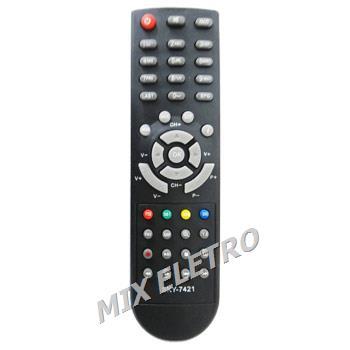 Controle Remoto para Decodificador Net Line X45N / X95HD  - Mix Eletro