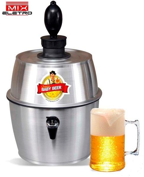 Chopeira Chopp Cerveja Baby Beer 3,5L ou 5 Garrafas de 600ml  - Mix Eletro