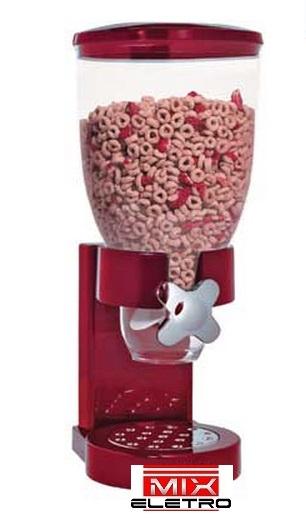 Dispenser Porta Cereais ou Grãos com função dosadora  - Mix Eletro