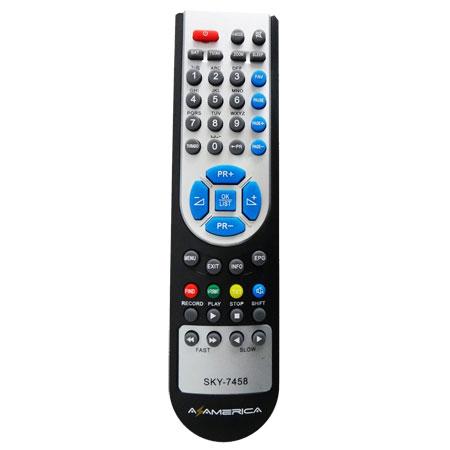CONTROLE REMOTO SIMILAR PARA DECODIFICADOR DE TV MARCA AZAMÉRICA S922  - Mix Eletro
