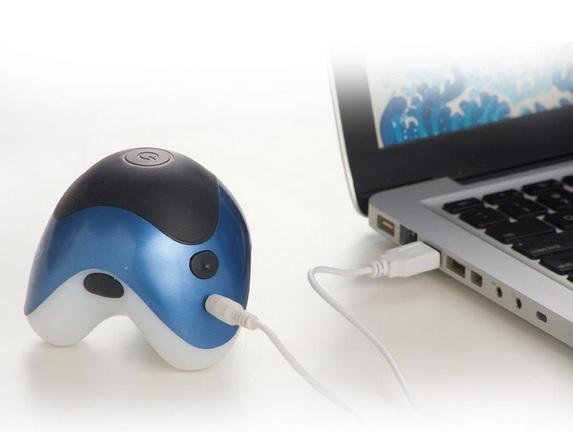 Mini Massageador Portátil com Alimentação USB PM-30RCH Relax Medic  - Mix Eletro