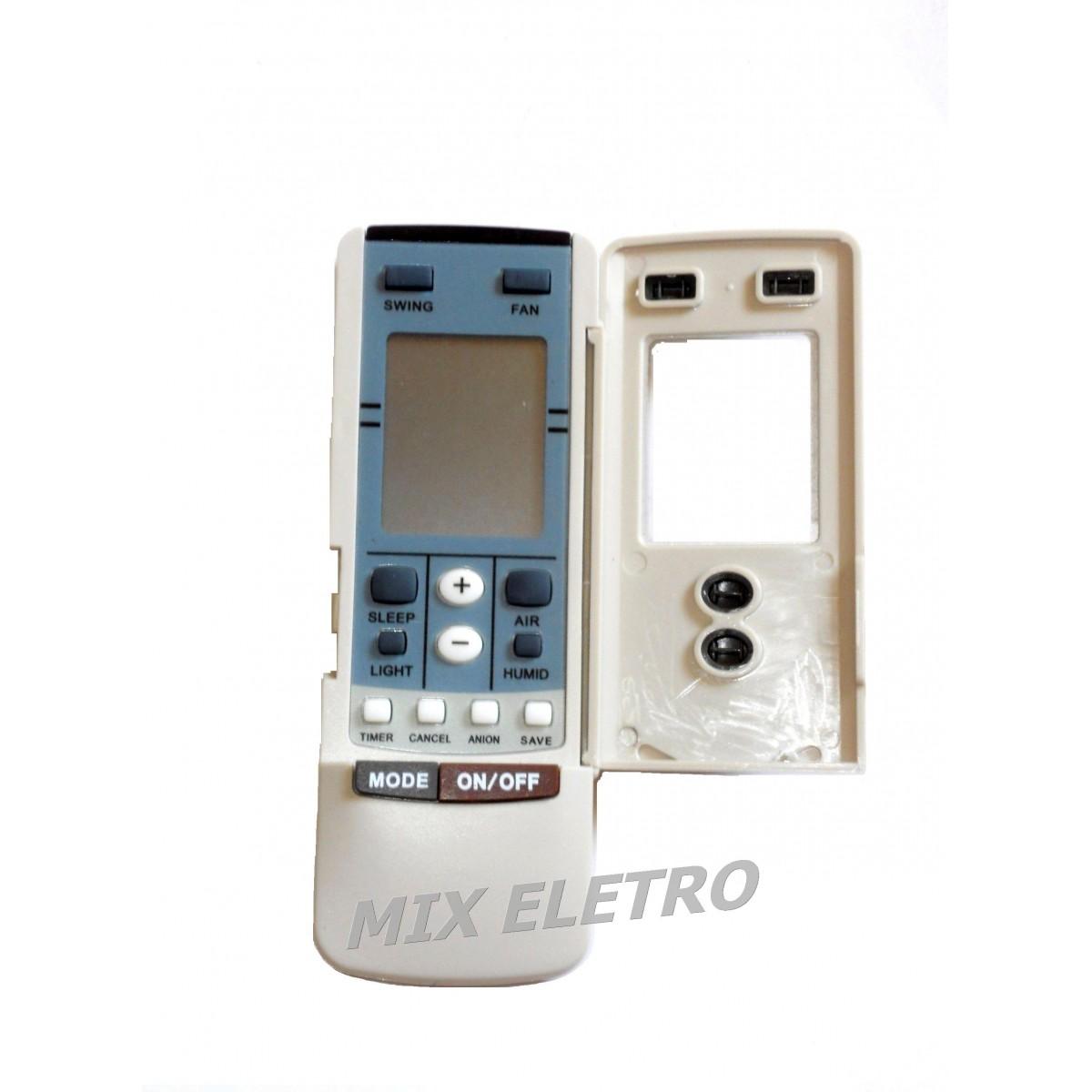 CONTROLE REMOTO PARA AR CONDICIONADO GREE Y-502 / Y-512  - Mix Eletro