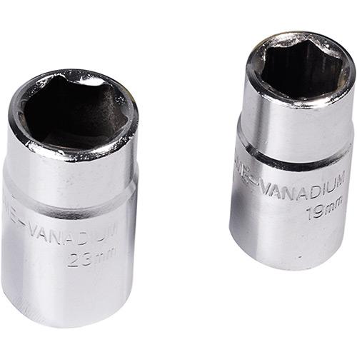 Parafusadeira¬ Elétrica Multilaser potência de entrada nominal de 100W. Torque de 350N, 4 Chaves soquete e plugue 12V  - Mix Eletro