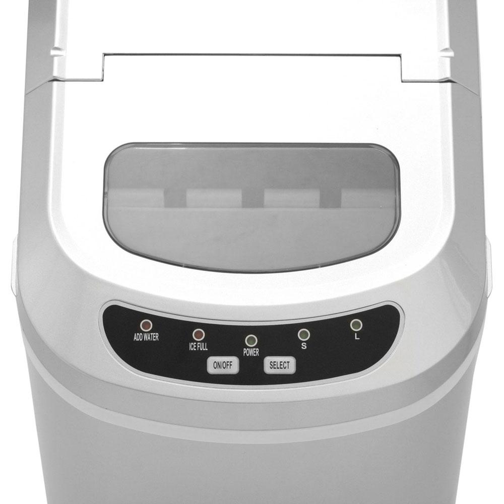Máquina de Gelo Polar reservatório de 2L 127V - Prata  - Mix Eletro