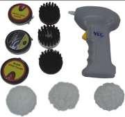 Polidor de sapatos Port�til - M�quina Para Engraxar Polir E Escovar Sapatos E Bolsas