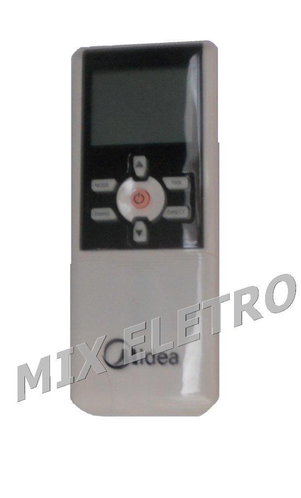 Controle Remoto para Ar Condicionado Central Midea R07/BGE  - Mix Eletro