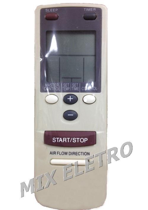 CONTROLE REMOTO PARA AR CONDICIONADO SPLIT FUJITSU AR-AB8  - Mix Eletro