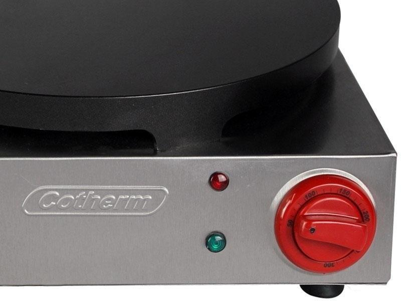 Panquequeira e Crepeira Profissional Dupla com Antiaderente Cotherm 220V  - Mix Eletro
