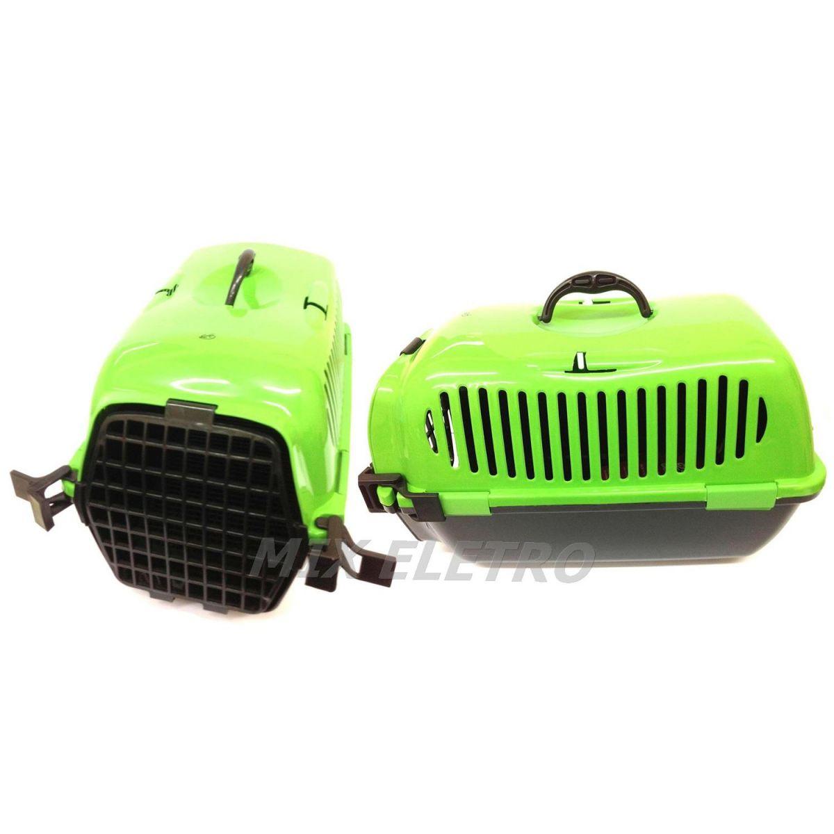 Caixa De Transporte Pet Para Cachorro E Gato Tamanho: 58 x 35 x 37cm CLC  - Mix Eletro