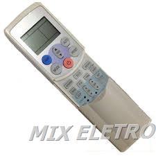 Controle Remoto para Ar Condicionado Split Toshiba linha RAS  - Mix Eletro