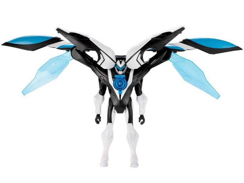 Boneco Max Steel Transformação Stell Invasão Aérea CBF41 Mattel  - Mix Eletro