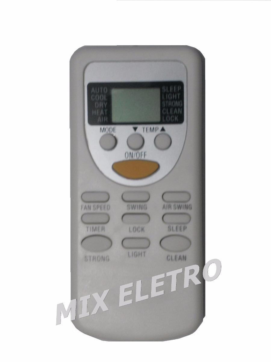 Controle Remoto Ar Condicionado Split Cassete Elgin Kaf/kaq  - Mix Eletro