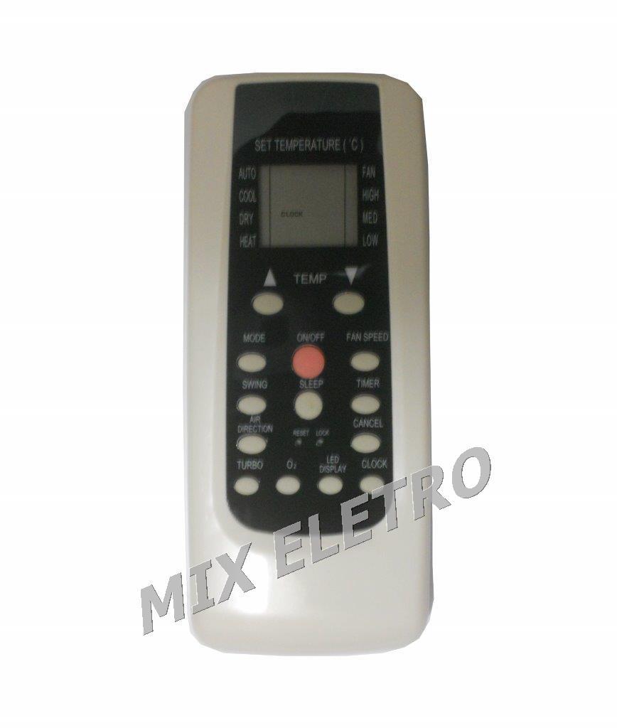 Controle Remoto Para Ar Condicionado Split Midea R101a/bge  - Mix Eletro