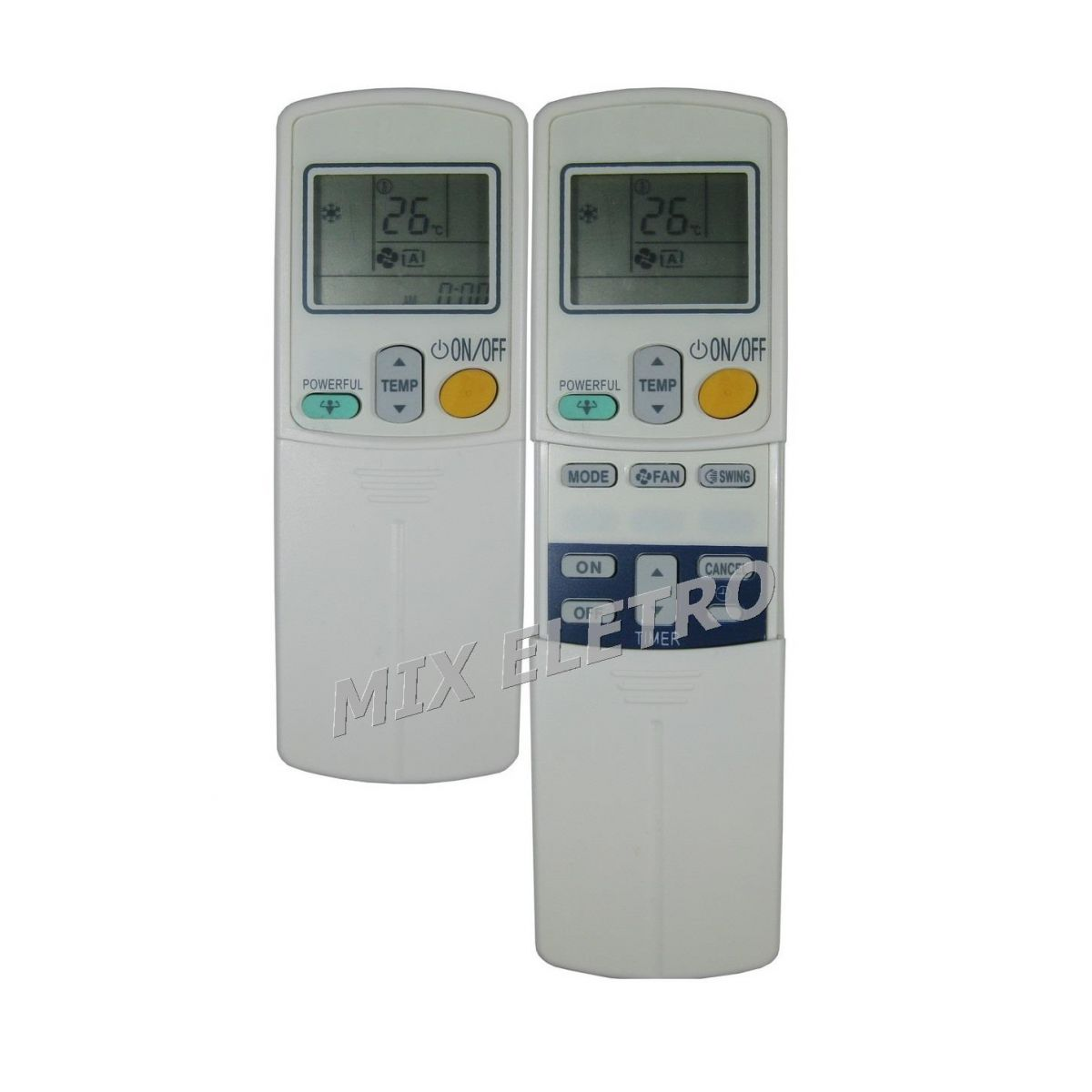 Controle Remoto para Ar Condicionado Split Daikin ARC423A17  - Mix Eletro