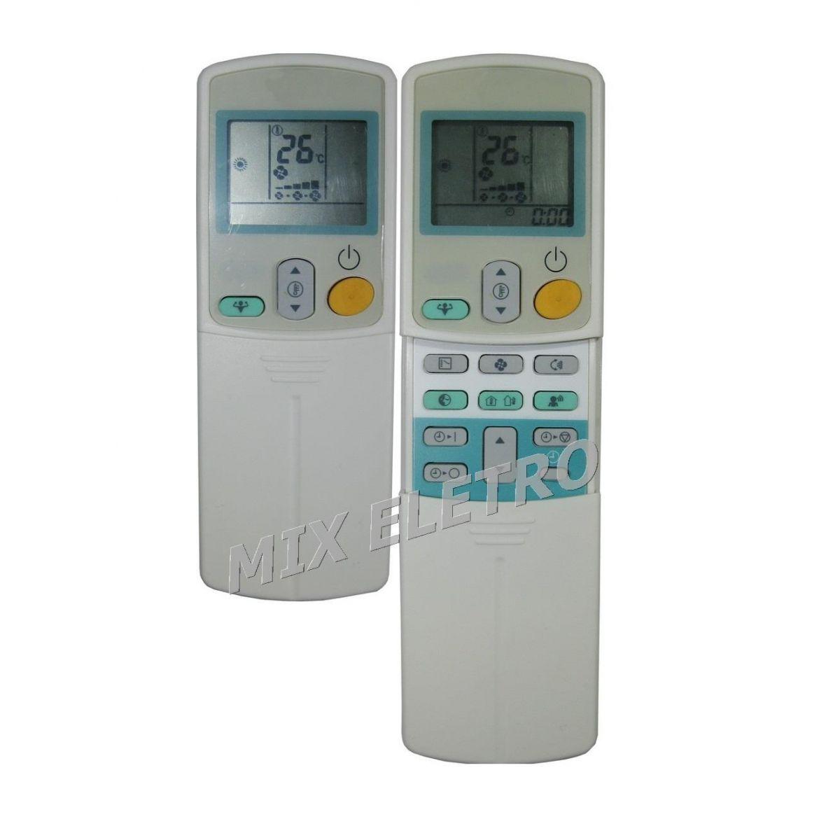 Controle Remoto para Ar Condicionado Split Daikin ARC433A15  - Mix Eletro