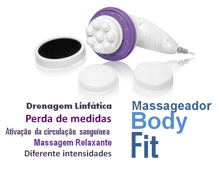 Massageador para drenagem linfática, perder medidas e relaxar 110V  - Mix Eletro