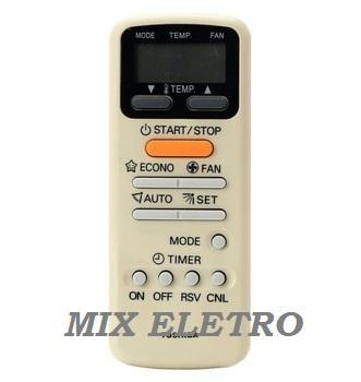 Controle Remoto para Ar Condicionado Split Toshiba WC-E1NE  - Mix Eletro