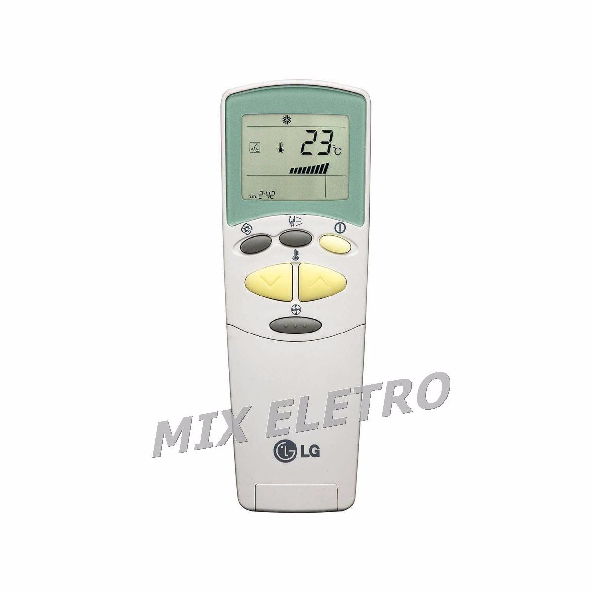 Controle remoto para Ar Condicionado LG Hero Inverter  - Mix Eletro
