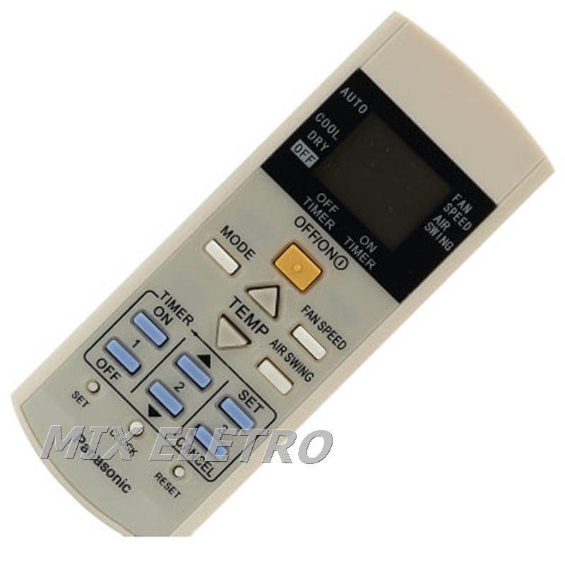 Controle Remoto Ar Condicionado Split Panasonic A75c3297  - Mix Eletro